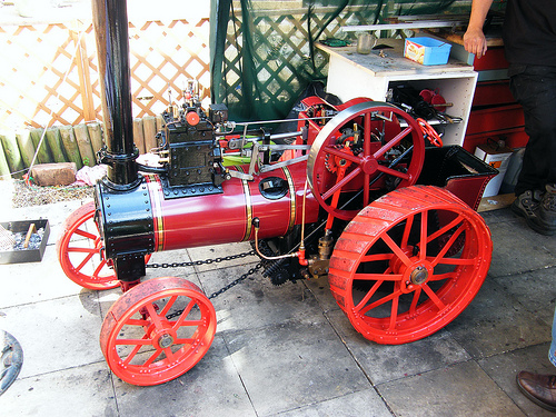 Durham And North Yorkshire Traction Engine 4 Quot Version